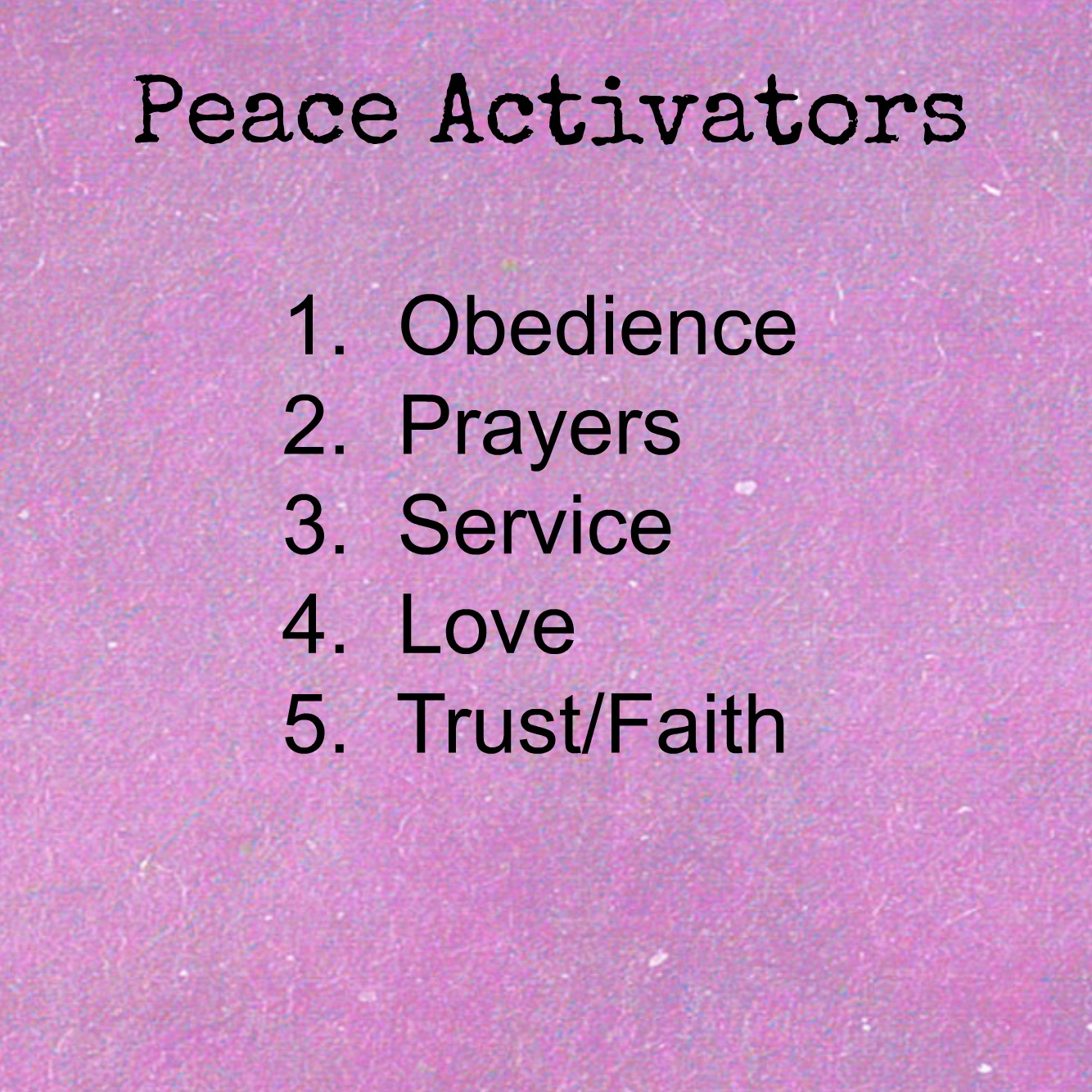 Peace Like A River Missy Baroff Ministries
