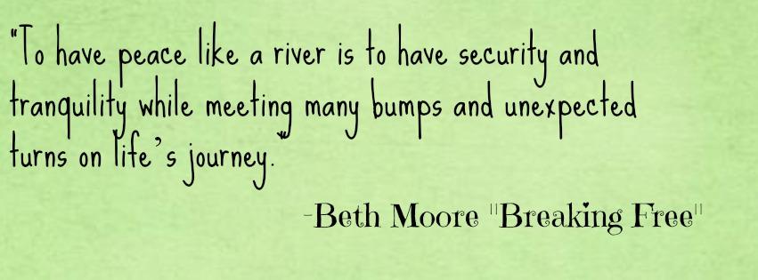 peace like a river essay example