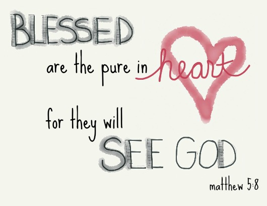 Blessed Are the Pure in Heart – Missy Baroff Ministries