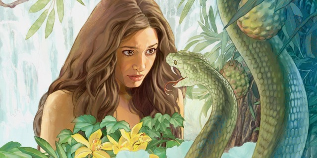 Image result for adam eve serpent